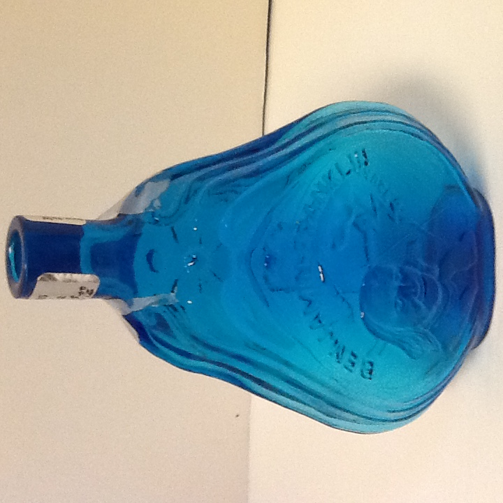 Pat s creations amp collectibles colonial azure blue glassware 1