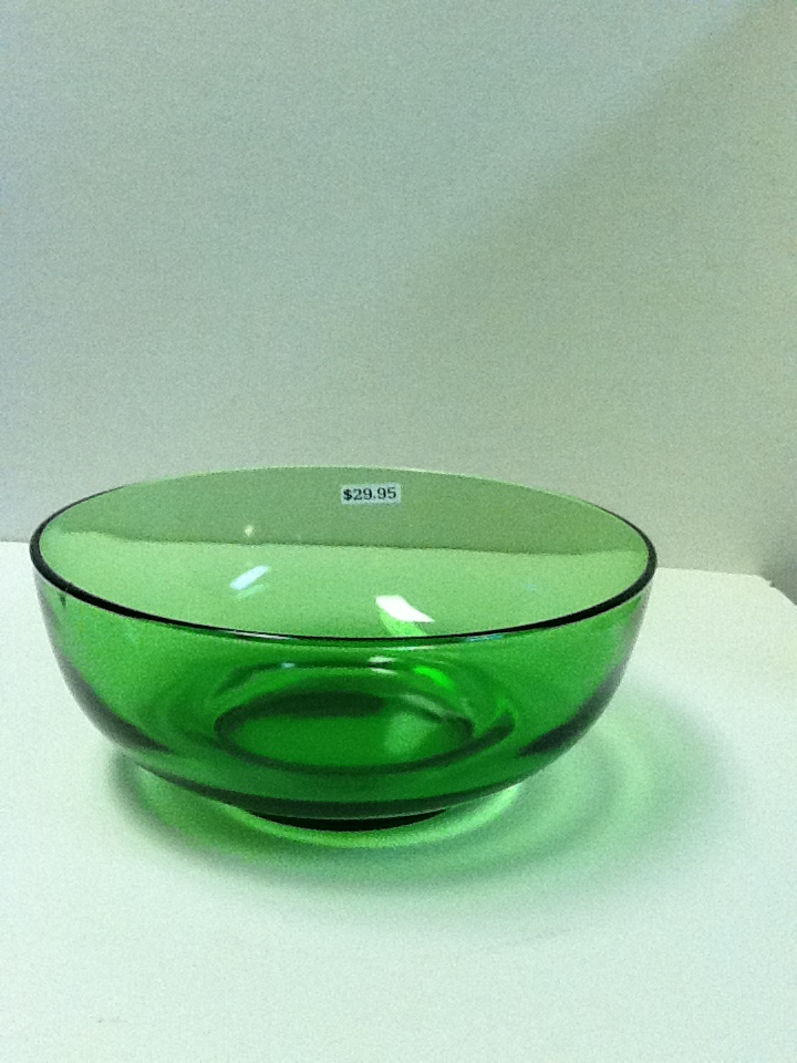 Pat s creations amp collectibles forest green glassware 1