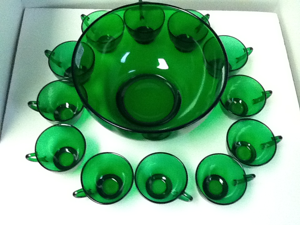 Pat s creations amp collectibles collectible punch bowl sets